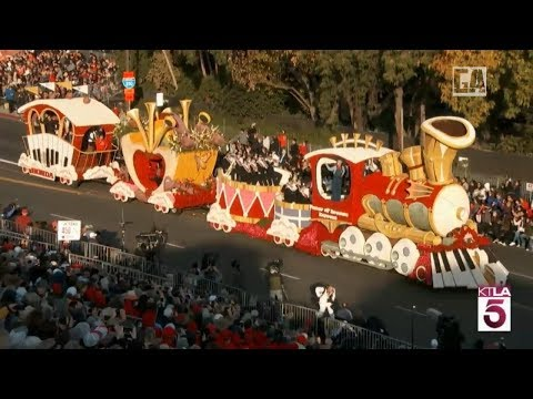 LIVE : Rose Parade in California - 2018 Happy New year -ローズ・パレード-Desfile del Torneo de las Rosas