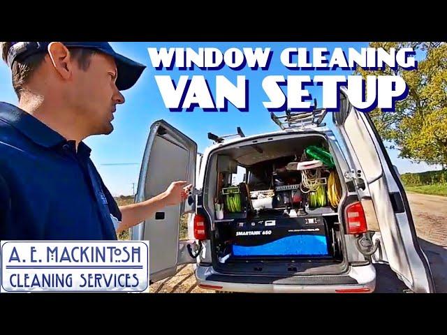 My Window Cleaning Van Setup - VW Transporter