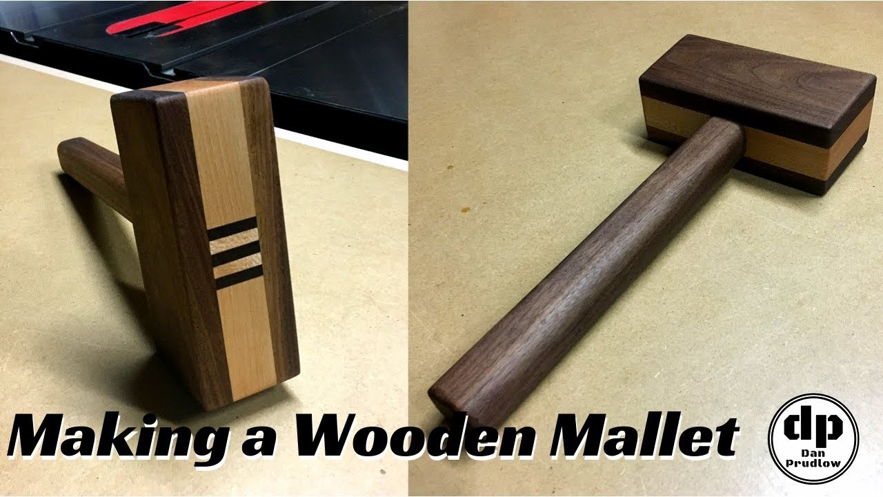 Wooden Mallet Build | Make A Wooden Mallet With Power Tools | Shop Built  Tools