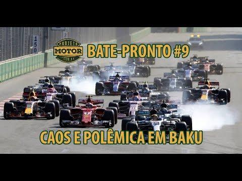 Bate-Pronto #9: Ricciardo sobrevive ao caos e vence em Baku
