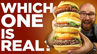 Beyond Burger vs Impossible Burger (Fake) vs Real Burger - Which One Tastes Better?