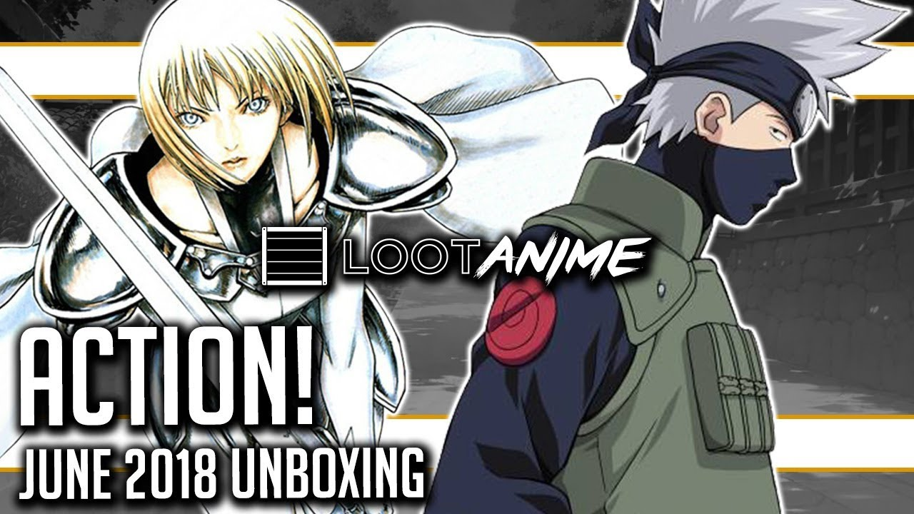 Loot Anime June 2018 Action Unboxing