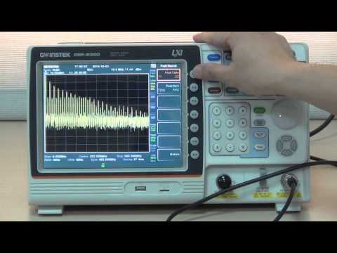 GSP-9300 How To Measure 10MHz Reference Frequency's Harmonic Signals?