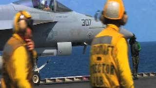 Aircraft Carrier USS Enterprise Flight Deck Operations | AiirSource