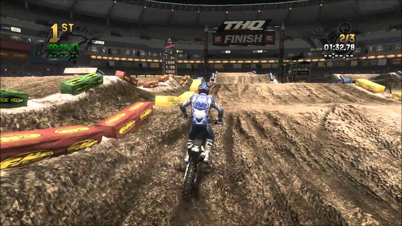 mx vs atv reflex supercross gameplay youtube. Black Bedroom Furniture Sets. Home Design Ideas
