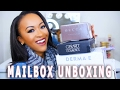 HUGE MAILBOX BEAUTY HAUL + UNBOXING!! | BECCA, GERARD COSMETICS, ELF + MORE! ♡ Fayy Lenee Beauty