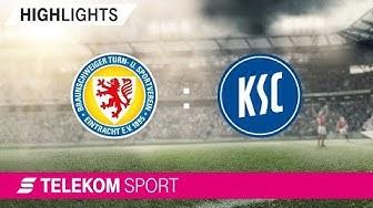 Eintracht Braunschweig – Karlsruher SC | Spieltag 1, 18/19 | Telekom Sport