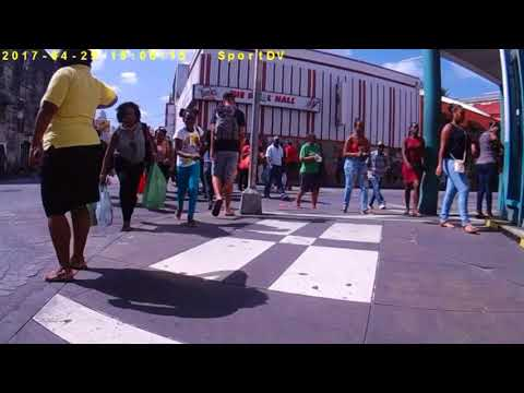 Barbados - Walk around Bridgetown