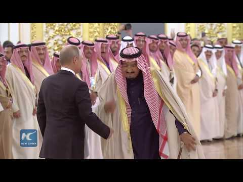 Saudi King visits Russia for first time
