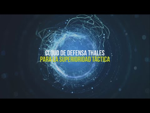 Cloud de defensa Thales para la superioridad táctica
