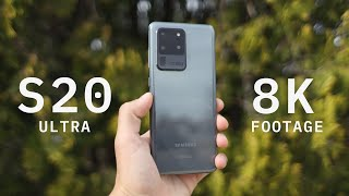 Samsung Galaxy S20 Ultra 8K Test Footage - Baja