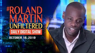 10:18 RMU: Black man victimized by DC Metro speaks out; GOP advances 45's unqualified judicial nod