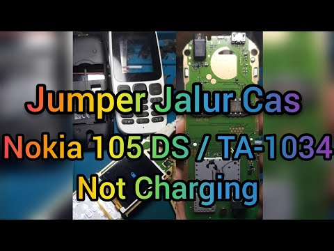 Nokia 105 DS / TA-1034 Not Charging 100% Tested!