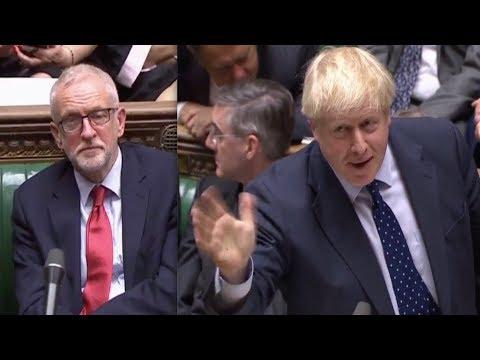Boris Johnson SHUTS