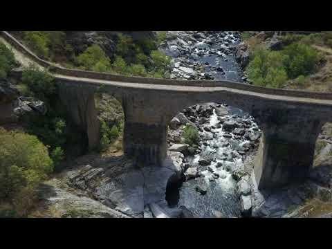 El puente de los Franceses a vista de dron