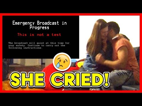END OF THE WORLD PRANK ON FIANCEE (She Cried!)
