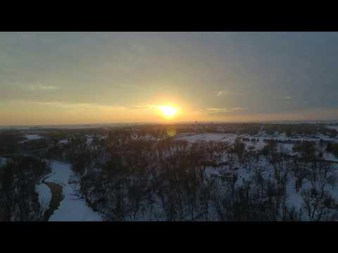 Iowa River January 2018 Eldora, Ia - Unedited