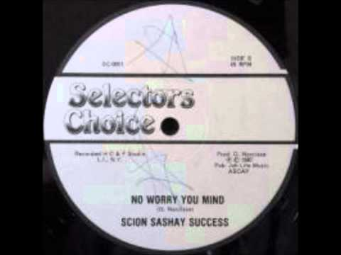 Scion Success - No Worry You Mind