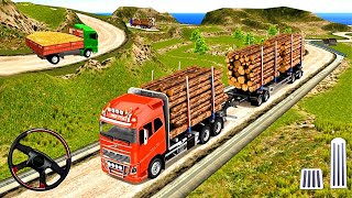 Indian Truck Spooky Stunt  Cargo Truck Driver #2- Android GamePlay
