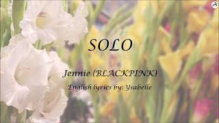 Solo English KARAOKE - Jennie BLACKPINK.mp3