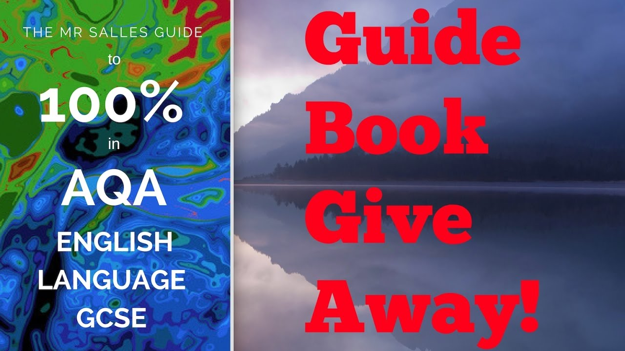 Mr Salles Guide Book Giveaway: Do You Want Grade 9 in English Language?