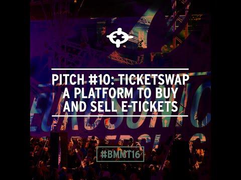 Pitch 10: Hans Ober van  TicketSwap: Een marktplaats voor tweedehands e-tickets