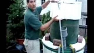 Pt. 1 Cooking 31 minute  Biogas Meal from Porch System in Germany