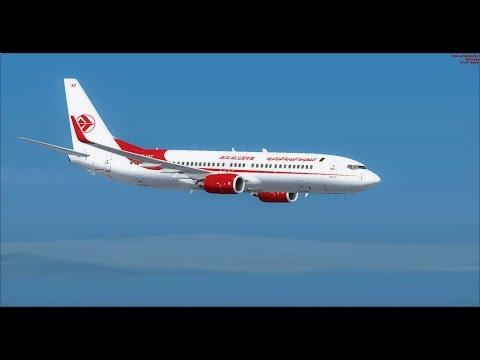 [FSX IVAO ATC] Décollage très difficile à Alger (DAAG) en 737-800 de chez Air Algérie (HD)