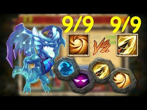 Lavanica L 9/9 Sacred Light Against 9/9 Zealous Drive L Castle Clash