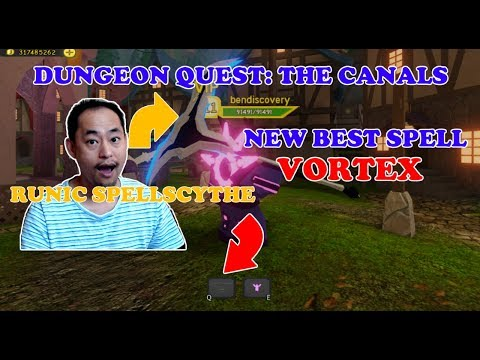 Vortex The Best Spell For Mage In The Canals Dungeon Quest 2