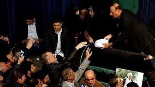 В Тегеране сотни тысяч иракцев простились с бывшим президентом Рафсанджани