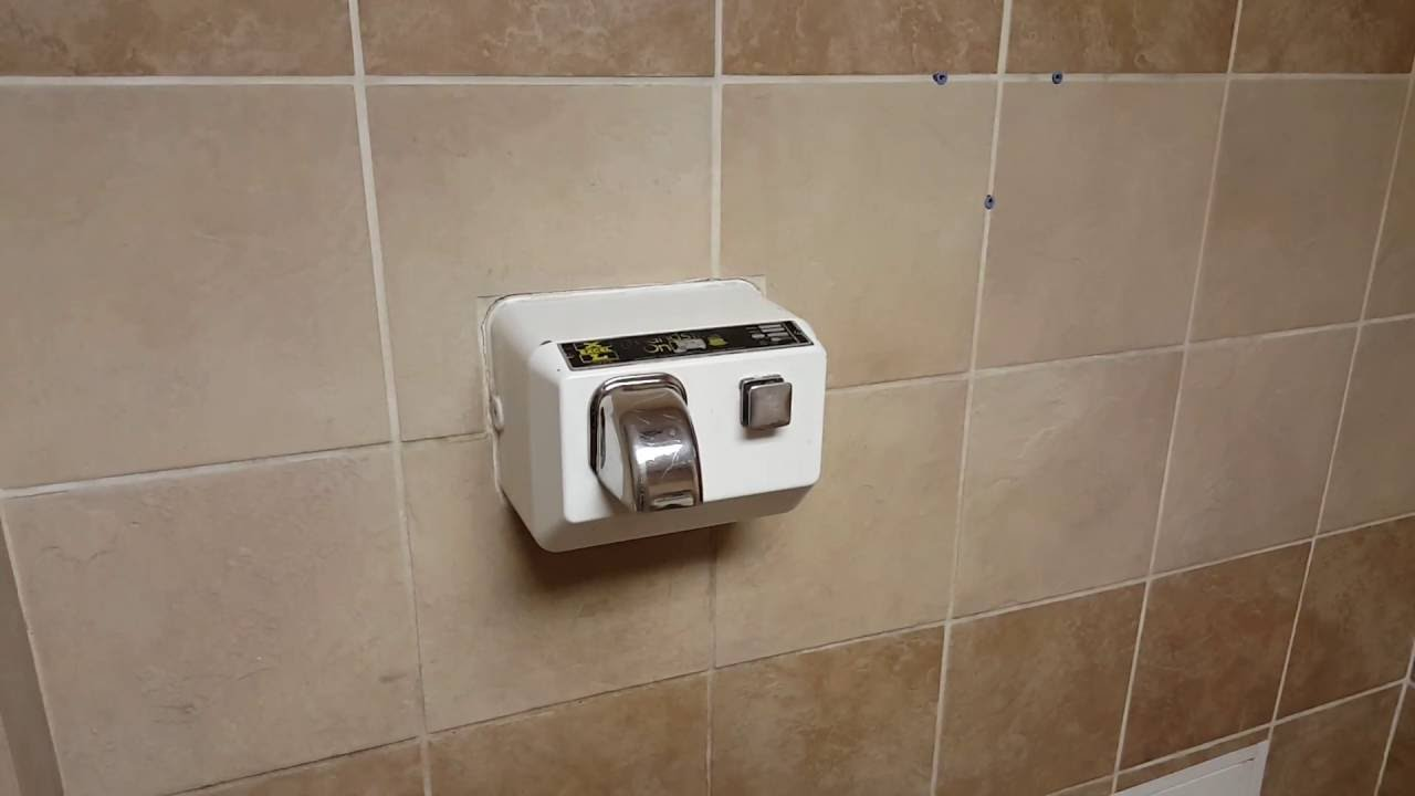 vintage malfunctioning excel hand dryer valero gas station yarbrough el paso tx - Excel Hand Dryer