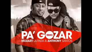 Anthony Santos Ft Mozart la Para -  (Pa Gozar Remix)
