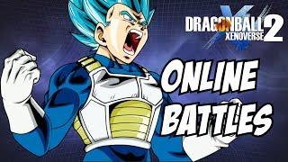 Dragon ball xenoverse 2 DB Super Vegeta gameplay online ranked matches