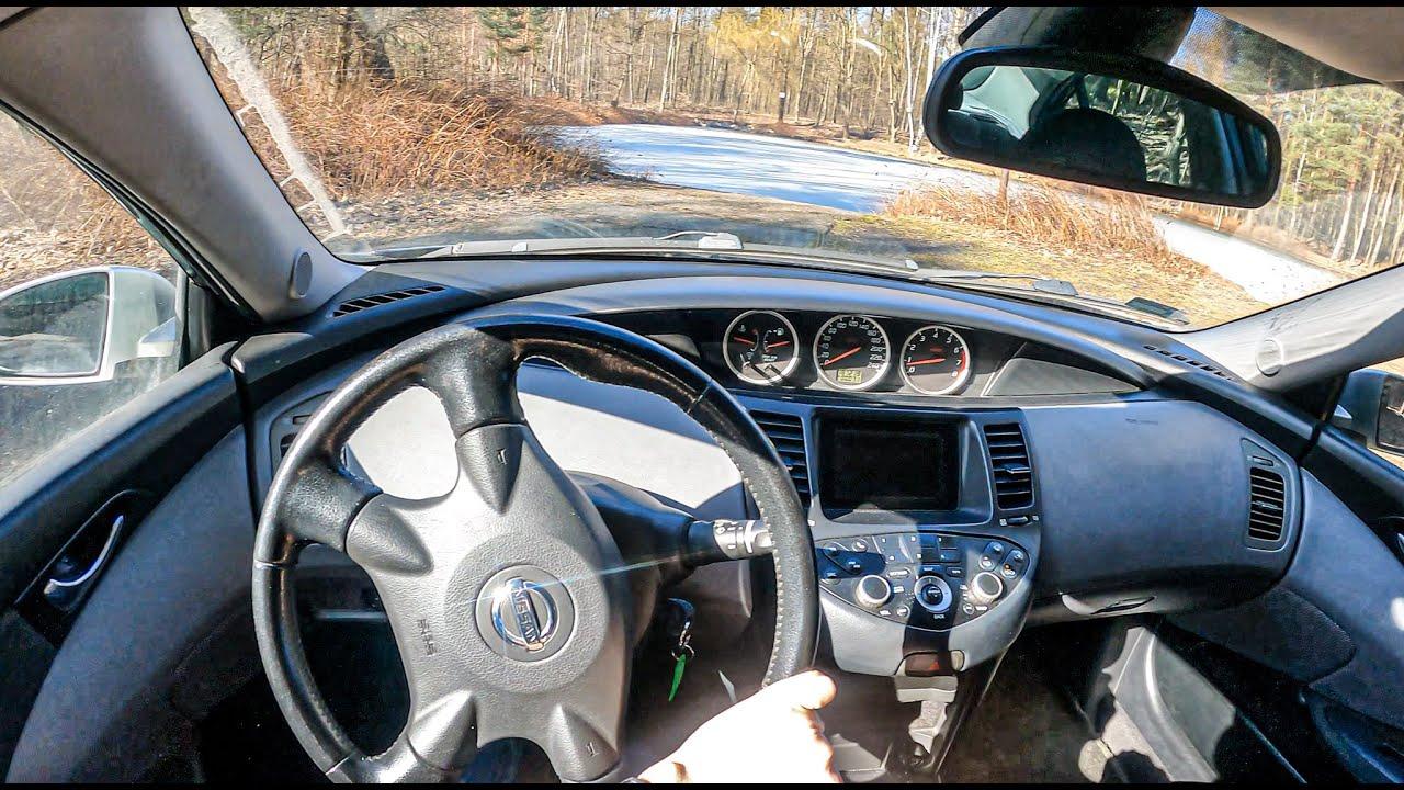 2002 Nissan Primera (2.0 16V 140 HP)   POV Test Drive #698 Joe Black