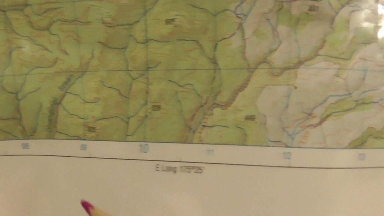 Land Navigation Military Grid Reference System Part 1