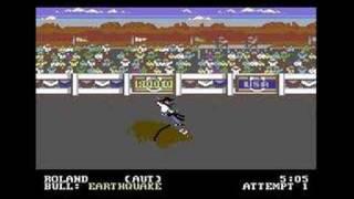 C64 World Games Bull Riding - 91 -