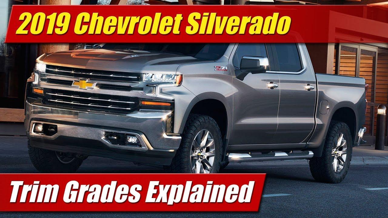 2018 Chevy Silverado >> 2019 Chevrolet Silverado: Trim Grades Explained - YouTube