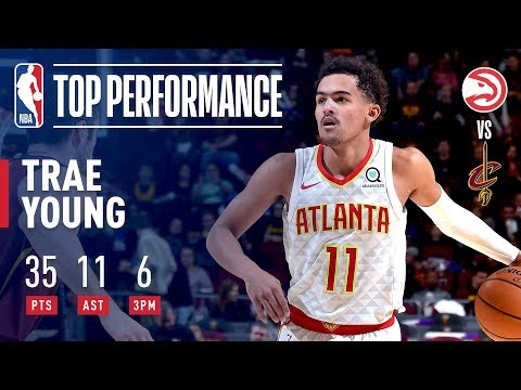 Trae Young Drops 35 & 11 In Victory Over Cleveland | October 21, 2018