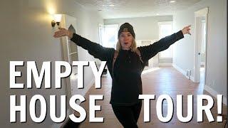 EMPTY HOUSE TOUR!   MOVING VLOG #1