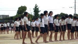 最後の運動会(小学校)6年生全員での組み立て体操 thumbnail