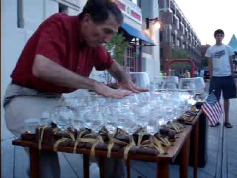 Wine Glass Music in Old Town, Alexandria VA