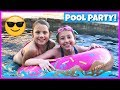 FUN FAMILY POOL PARTY!