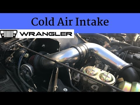 Jeep YJ 2.5 Cold Air Intake