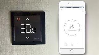 видео Управление электрическим теплым полом, советы по выбору терморегулятора пола