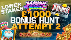 Online Slots Bonus Hunt ~ £1000 in ~ Compilation of Slots