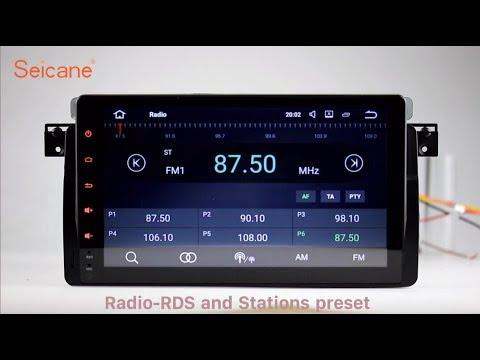 1998-2006 BMW 3 Series E46 Bluetooth Radio GPS Navigation with Audio system Aux
