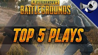 PUBG Top 5 Plays #4: Winchester Win94 Long Distance Kills!! (PlayerUnknown's Battlegrounds)