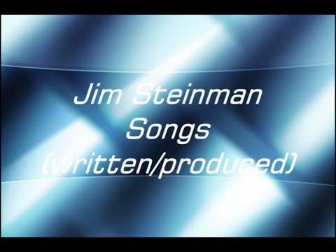 John's Top 10 - Jim Steinman Songs