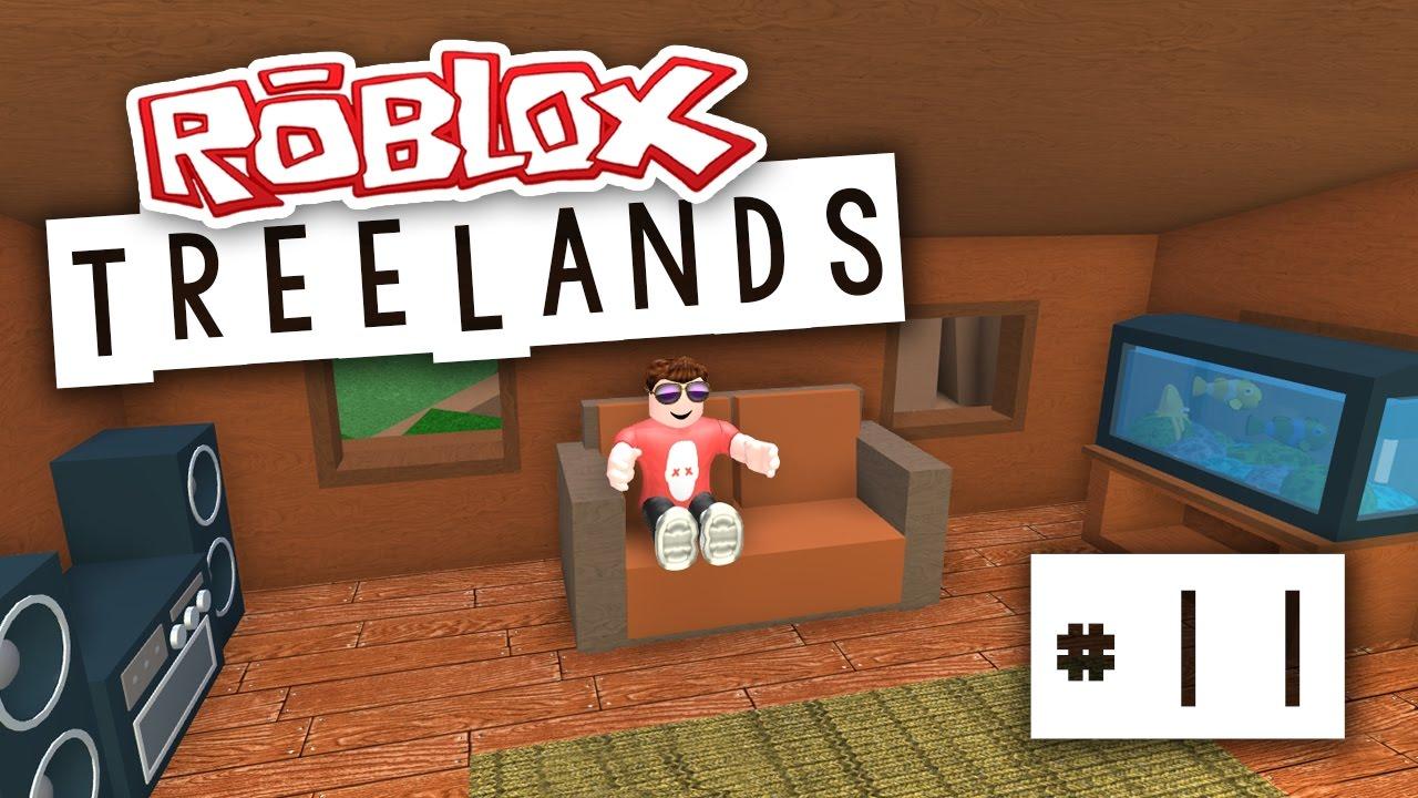 Roblox Room: SWEET LIVING ROOM (Roblox Treelands)
